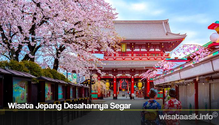 Wisata Jepang Desahannya Segar