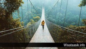 Fakta Menarik Dari Wisata Jembatan Gantung Situgunung Dari Sukabumi