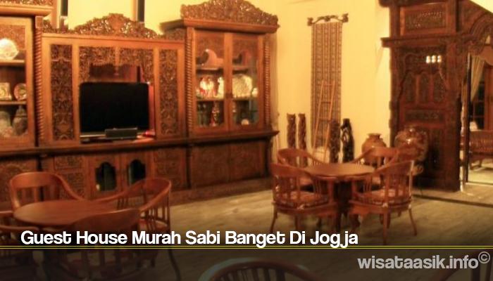 Guest House Murah Sabi Banget Di Jogja