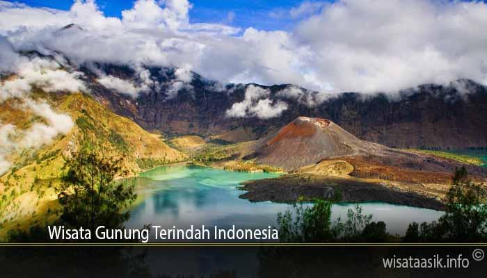 Wisata Gunung Terindah Indonesia