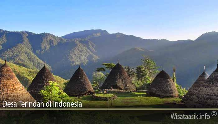 Desa Terindah di Indonesia