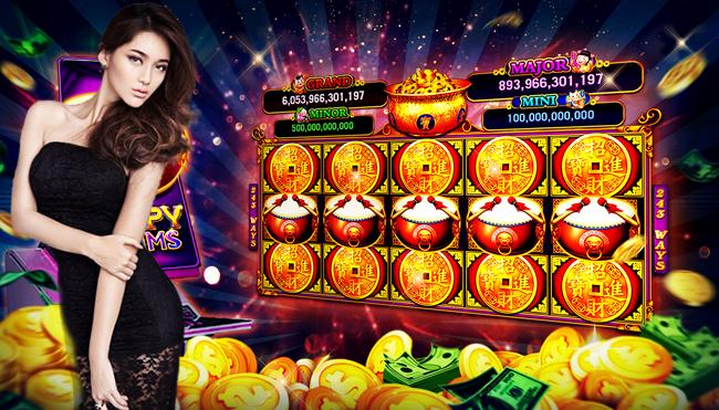 Memainkan Permainan Slot Online Mudah Menang
